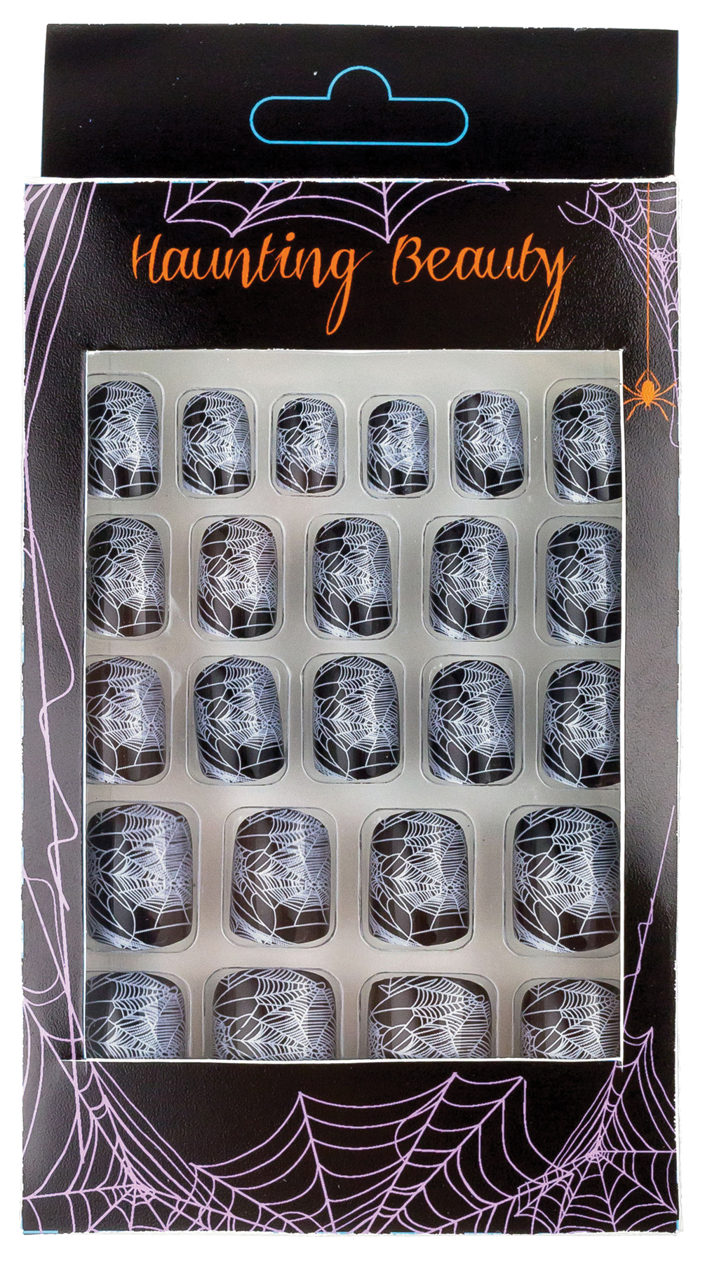 Featured Image for Finger Nails Spider Web