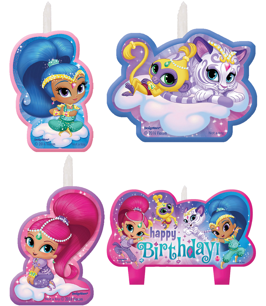 Featured Image for Shimmer Shine Birthday Candle Set – Pack of 4