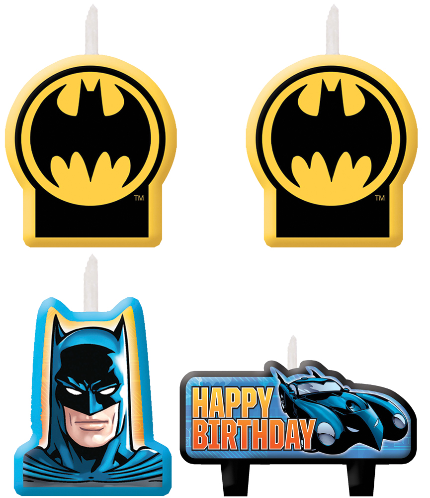 Featured Image for Batman Candle Set – Pack of 4