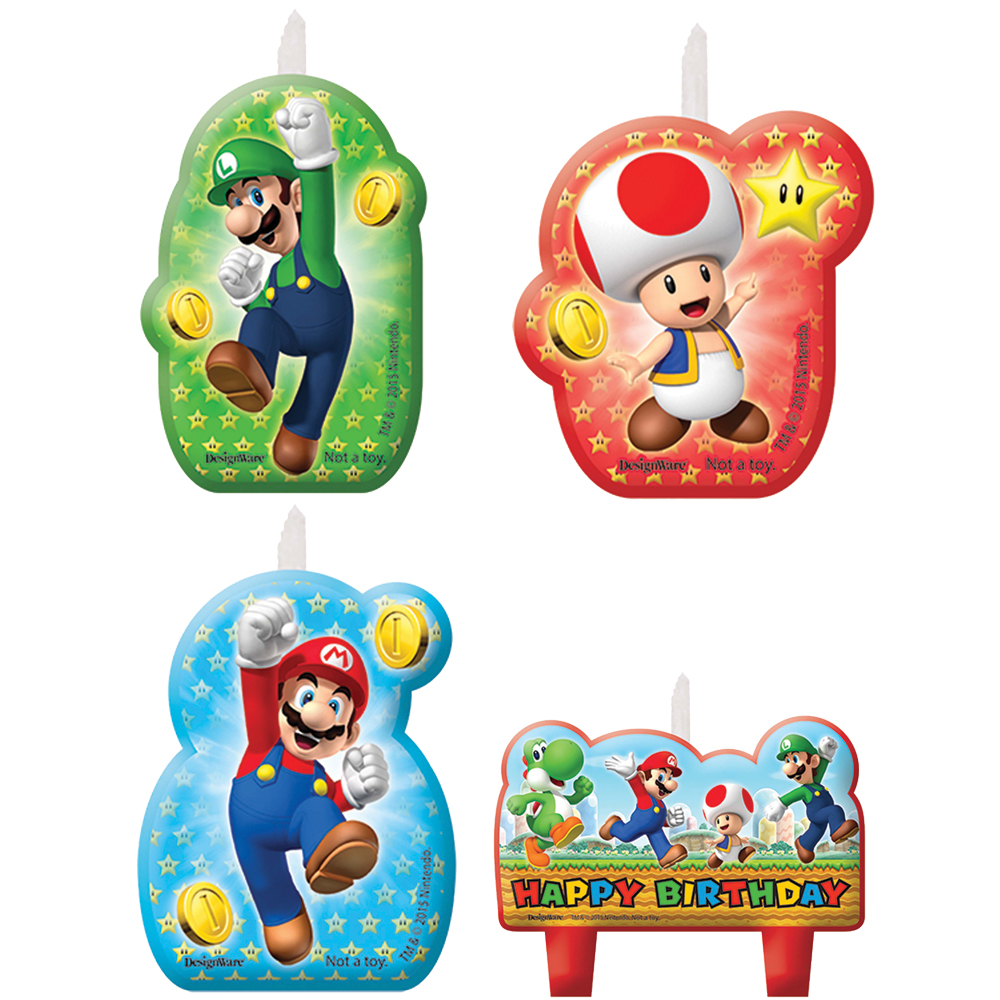 Featured Image for Super Mario Candle Set – Pack of 4