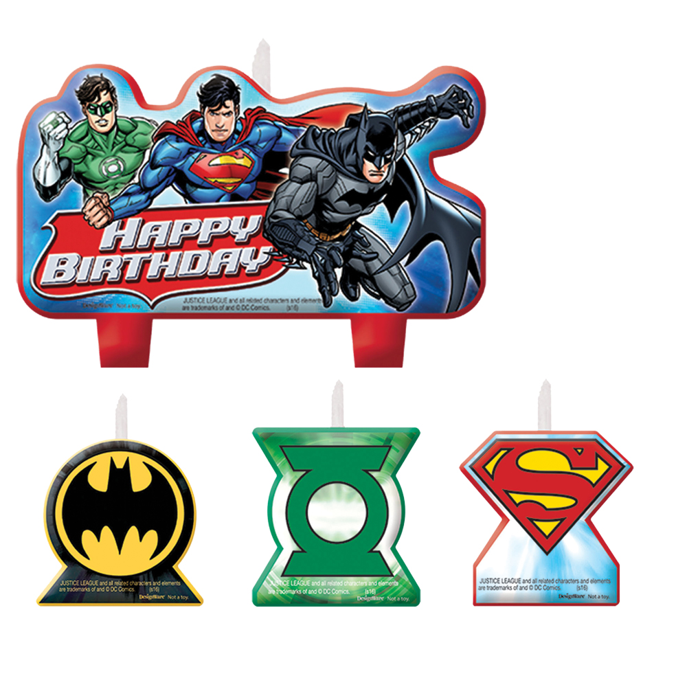 Featured Image for Justice League Candle Set – Pack of 4