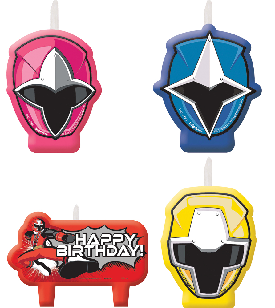 Featured Image for Power Rangers NS Candle Set – Pack of 4