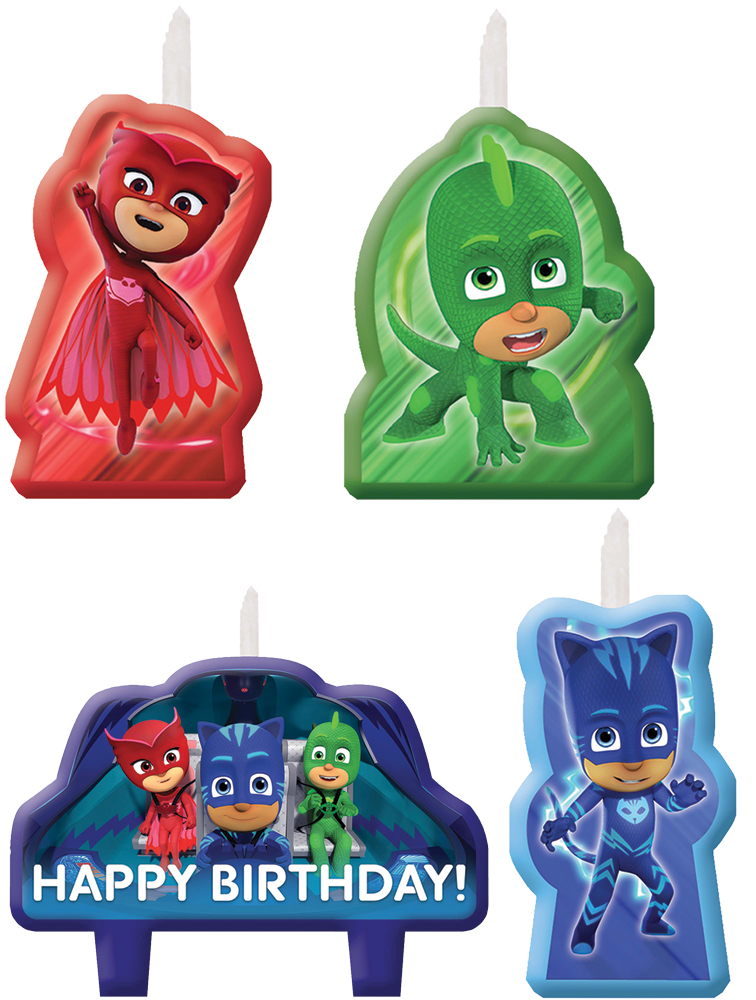 Featured Image for PJ Masks Candle Set – Pack of 4