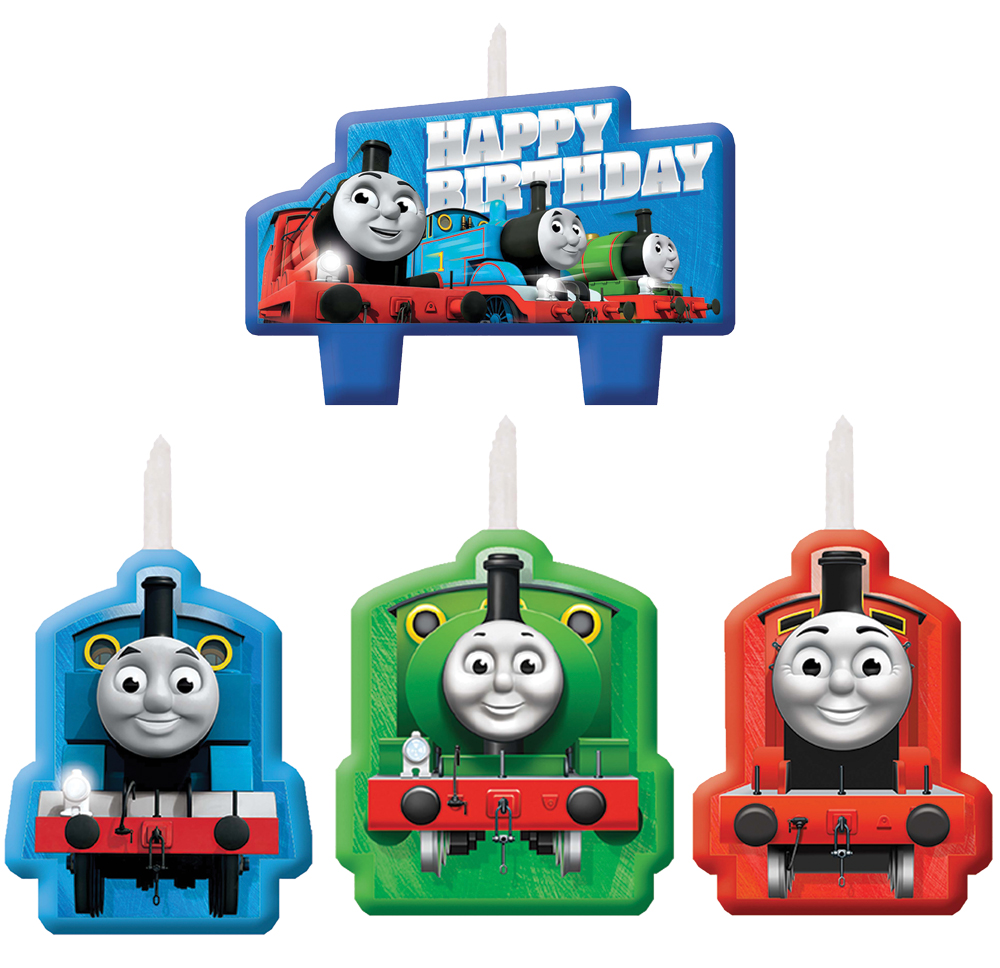 Featured Image for Thomas The Tank Candle Set – Pack of 4