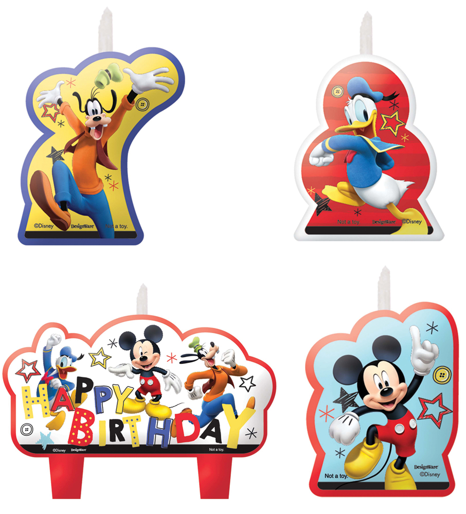 Featured Image for Disney Mickey Candle Set – Pack of 4