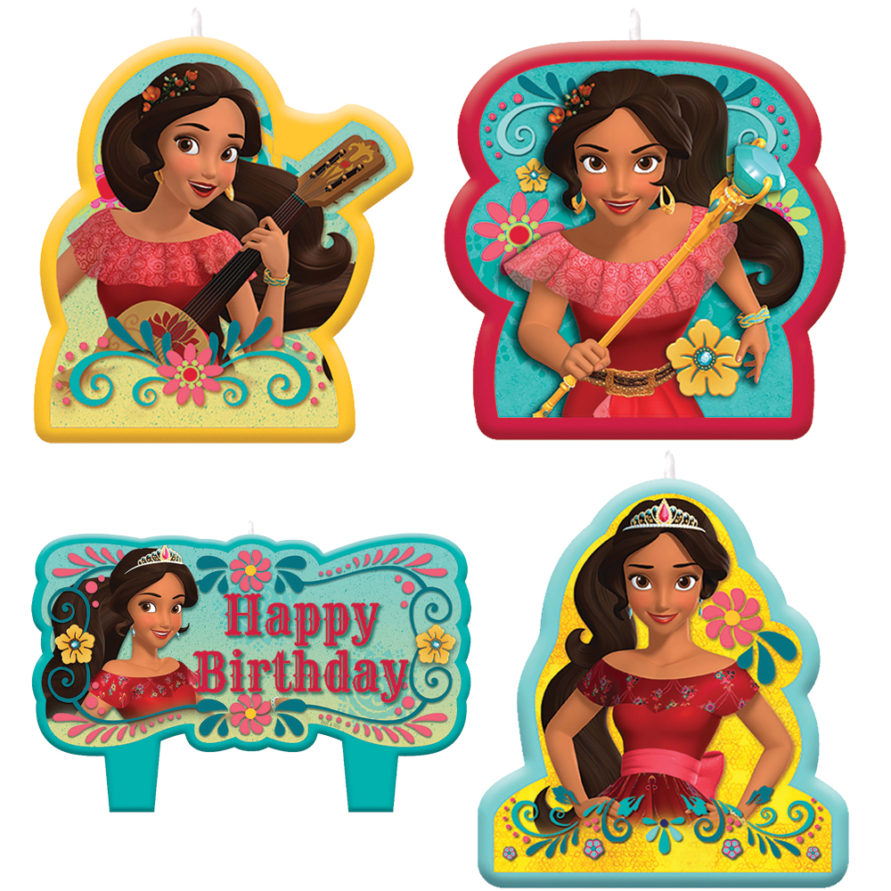 Featured Image for Elena of Avalor Birthday Candle Set – Pack of 4