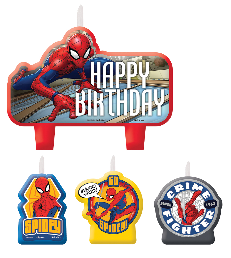 Featured Image for Spider-Man Candle Set – Pack of 4
