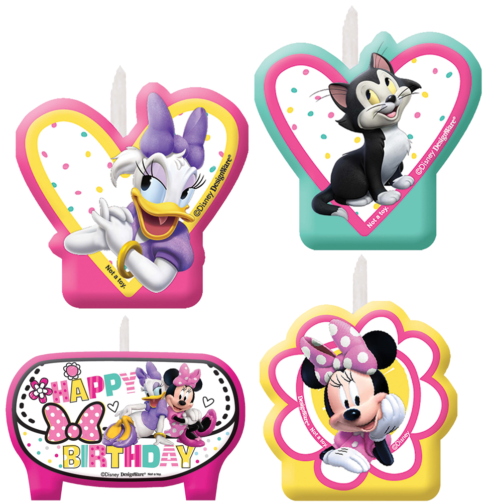 Featured Image for Minnie Helpers Birthday Candle 1-Count