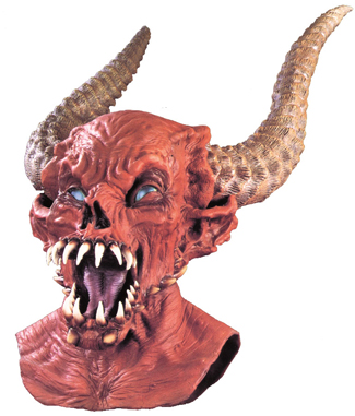 Featured Image for Demon Master Latex Mask