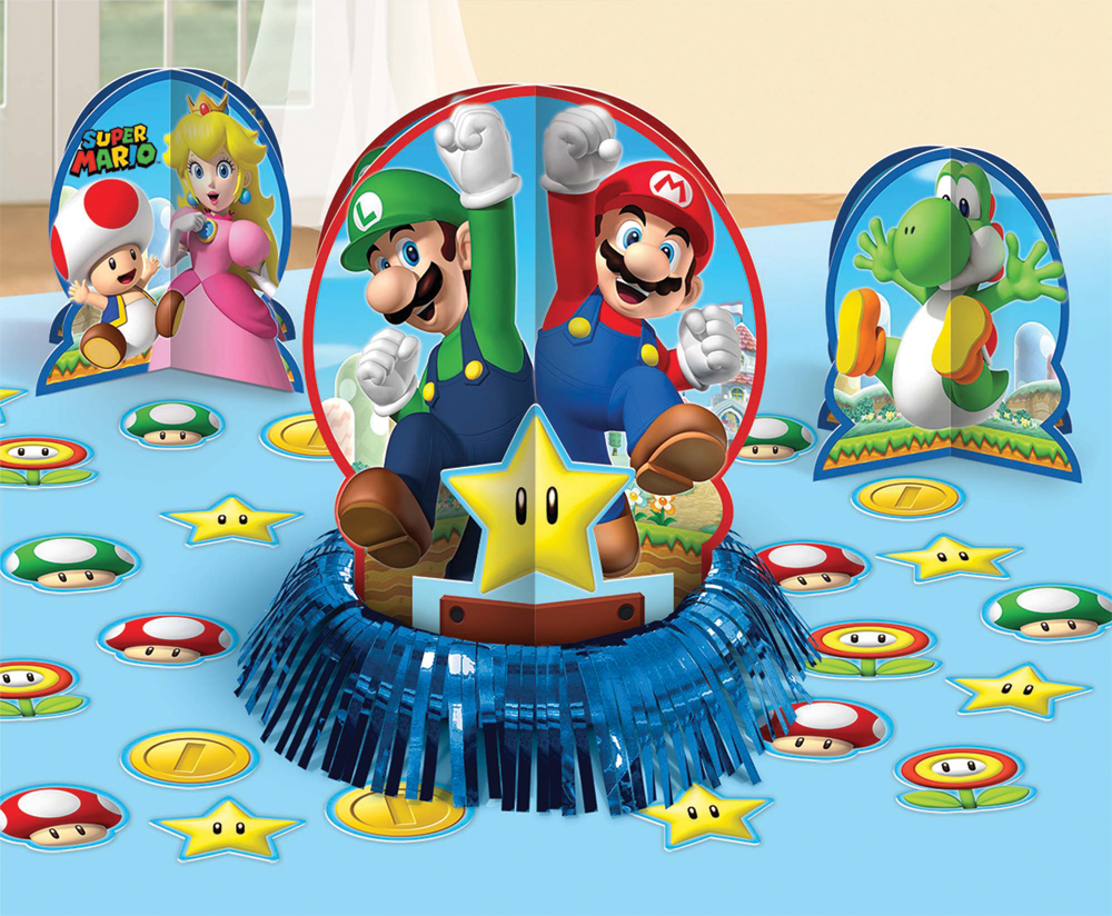 Featured Image for Super Mario Table Decor Kit