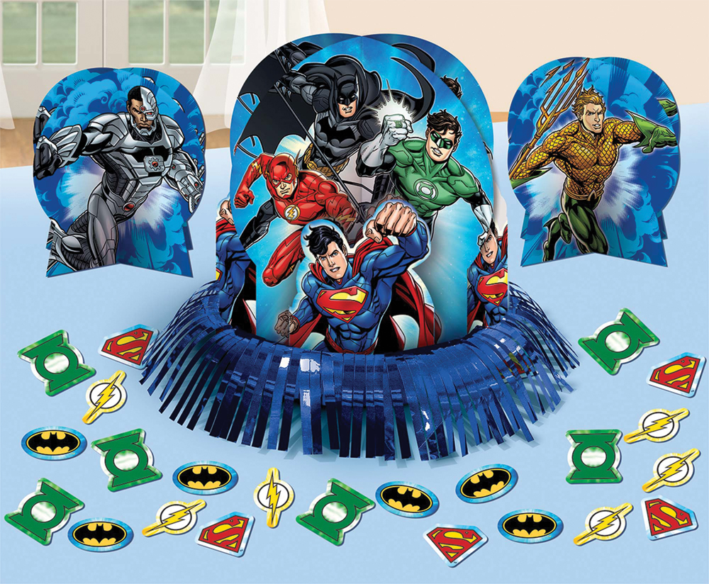Featured Image for Justice League Table Decor Kit