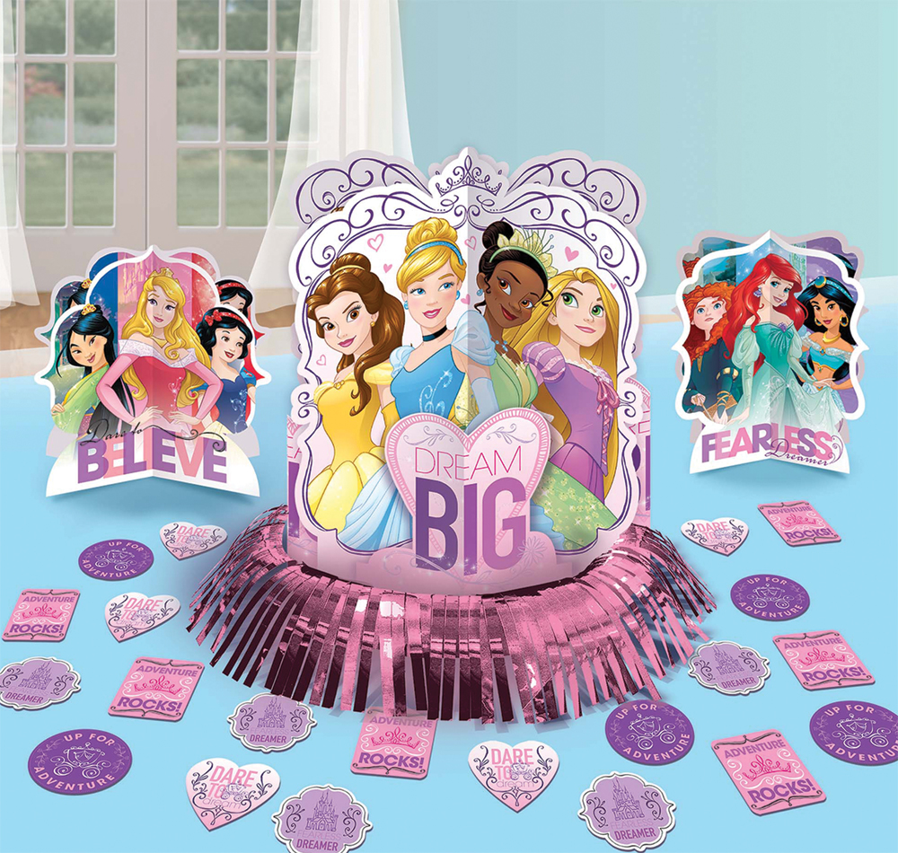 Featured Image for Disney Princess Table Decor Kit