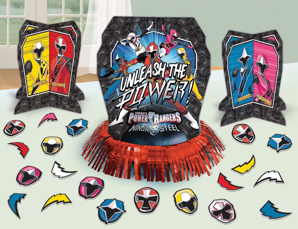 Featured Image for Power Rangers NS Table Decor Kit