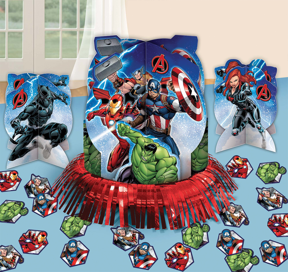 Featured Image for Avengers Table Decor Kit