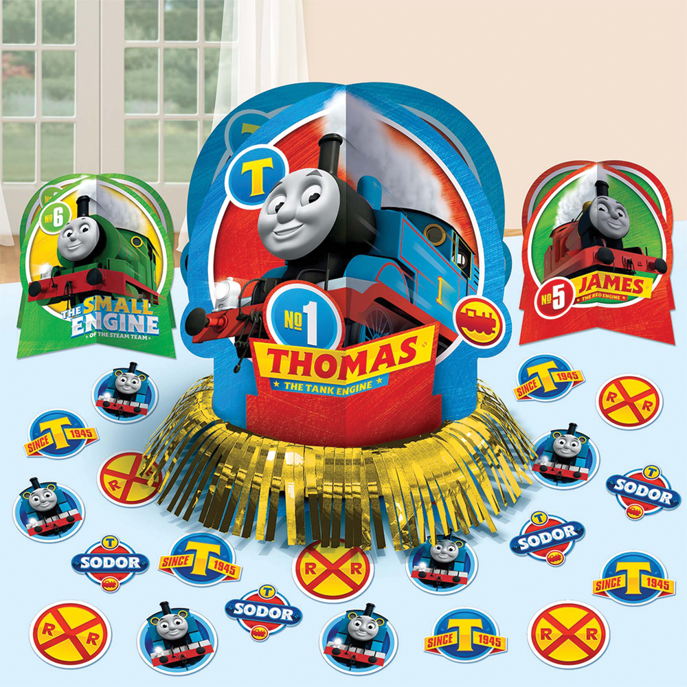 Featured Image for Thomas The Tank Table Decor Kit
