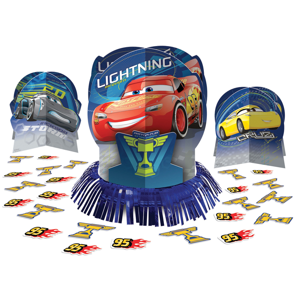 Featured Image for Disney Cars 3 Table Decor Kit