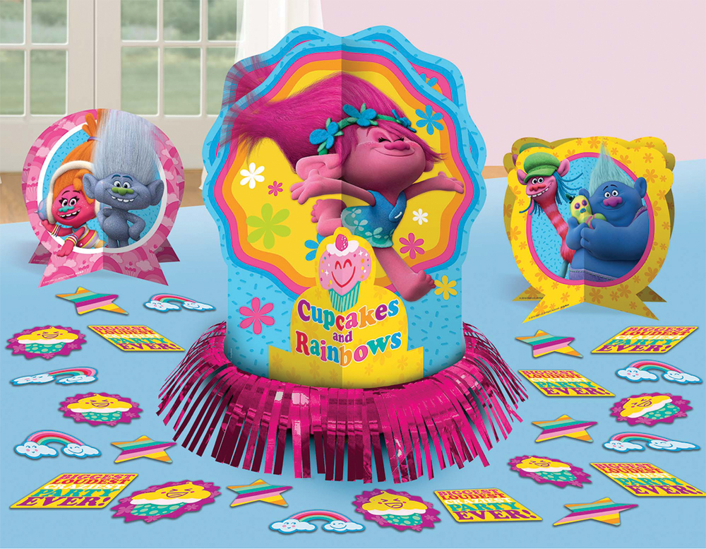 Featured Image for Trolls Table Decor Kit