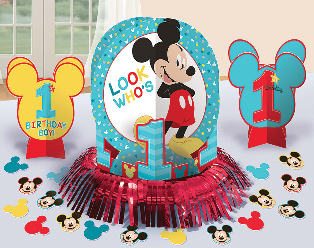 Featured Image for Mickey 1st Birthday Table Decor Kit
