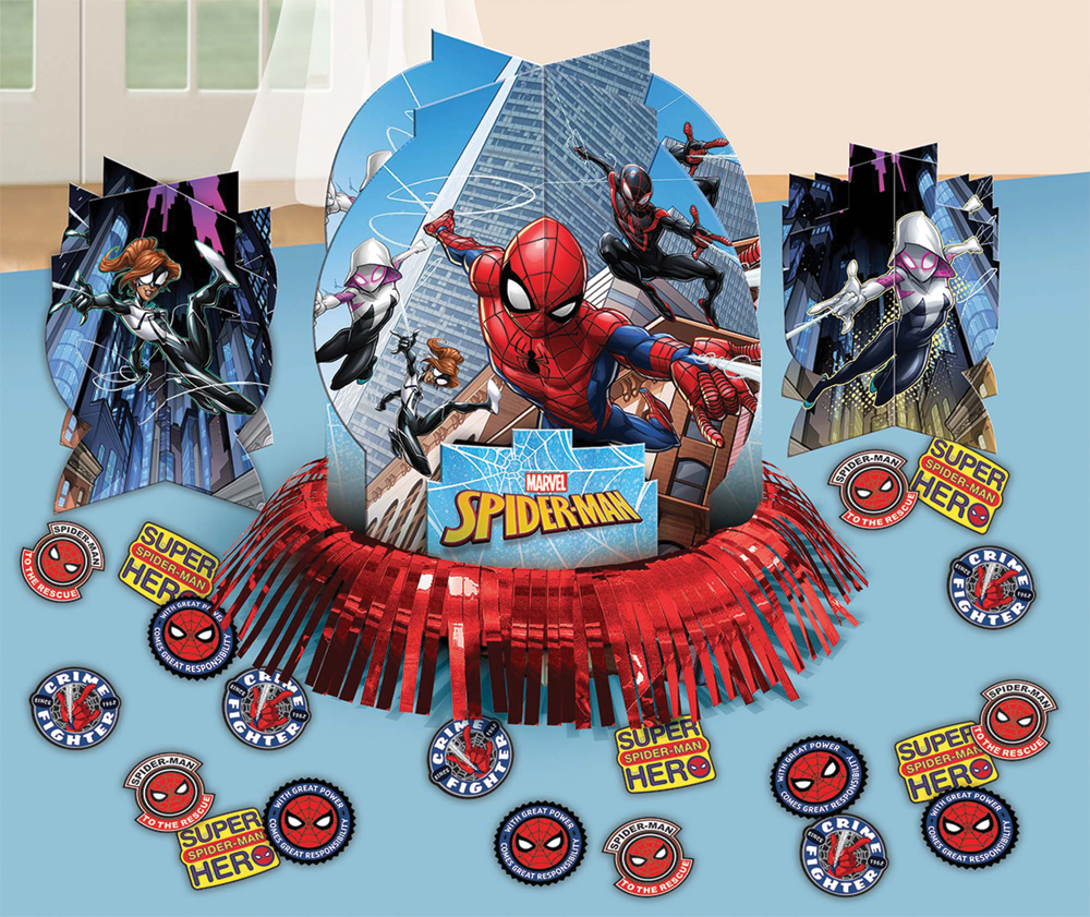 Featured Image for Spider-Man Table Decor Kit
