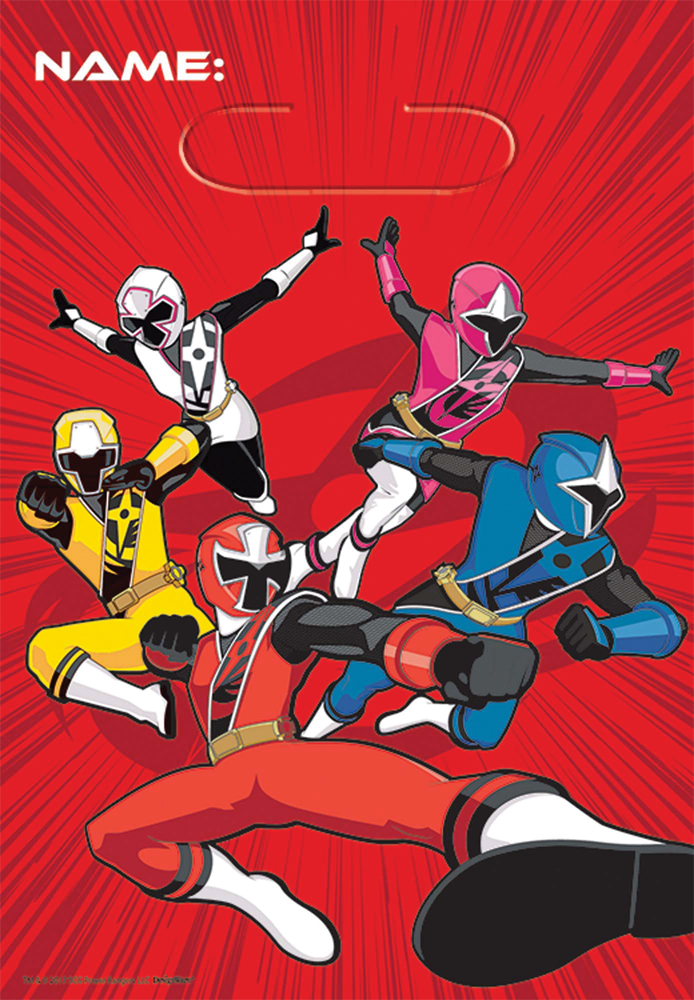 Featured Image for Power Rangers NS Loot Bags – Pack of 8