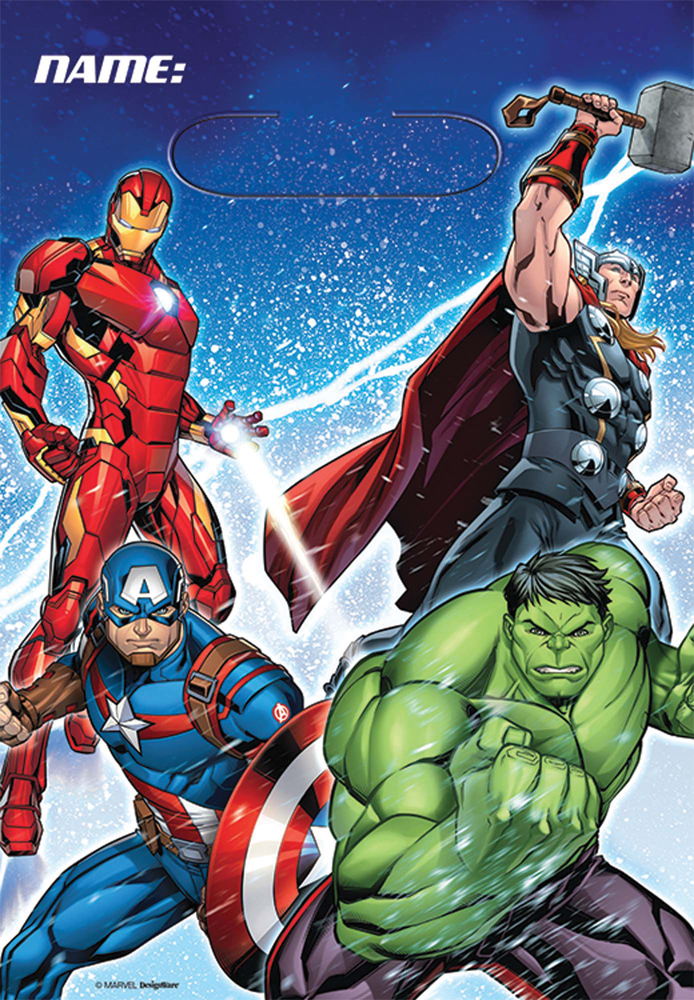 Featured Image for Avengers Loot Bag – Pack of 8