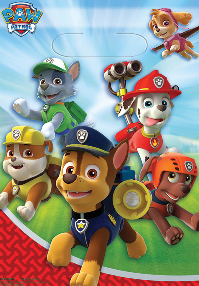 Featured Image for PAW Patrol Loot Bags – Pack of 8