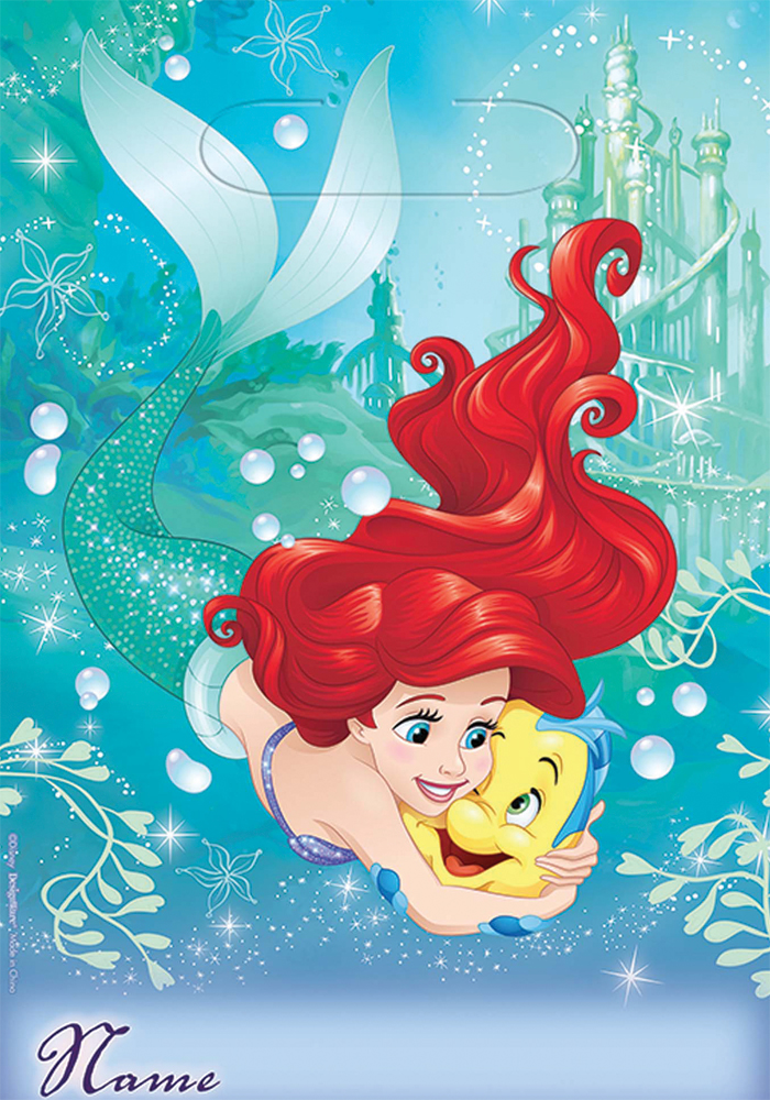 Featured Image for Disney Ariel Loot Bags – Pack of 8