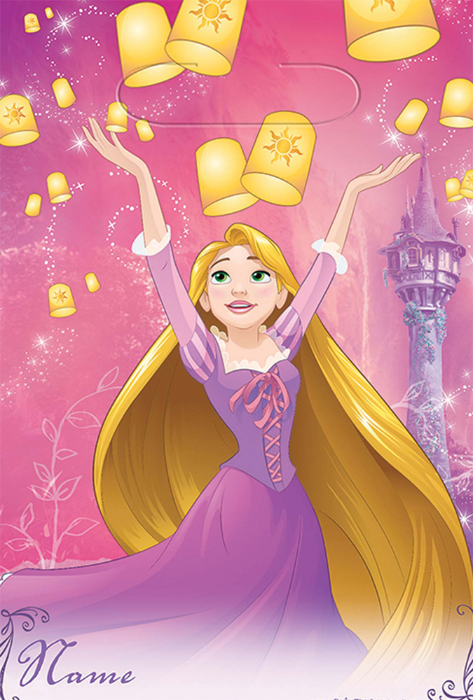 Featured Image for Disney Rapunzel Loot Bags – Pack of 8