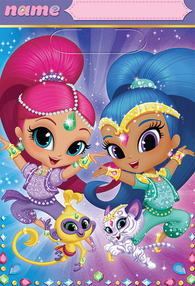Featured Image for Shimmer Shine Folded Loot Bags – Pack of 8