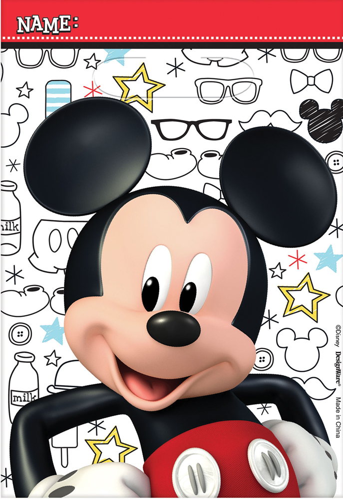 Featured Image for Disney Mickey Loot Bags – Pack of 8