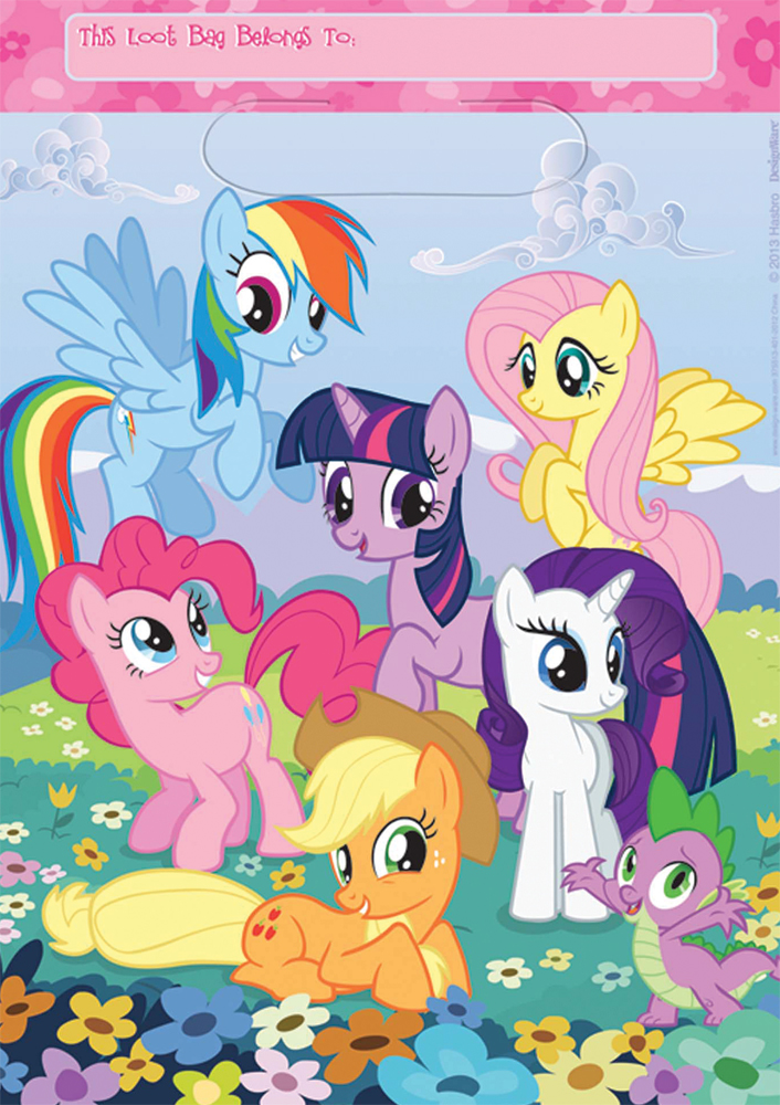 Featured Image for My Little Pony Folded Loot Bags – Pack of 8