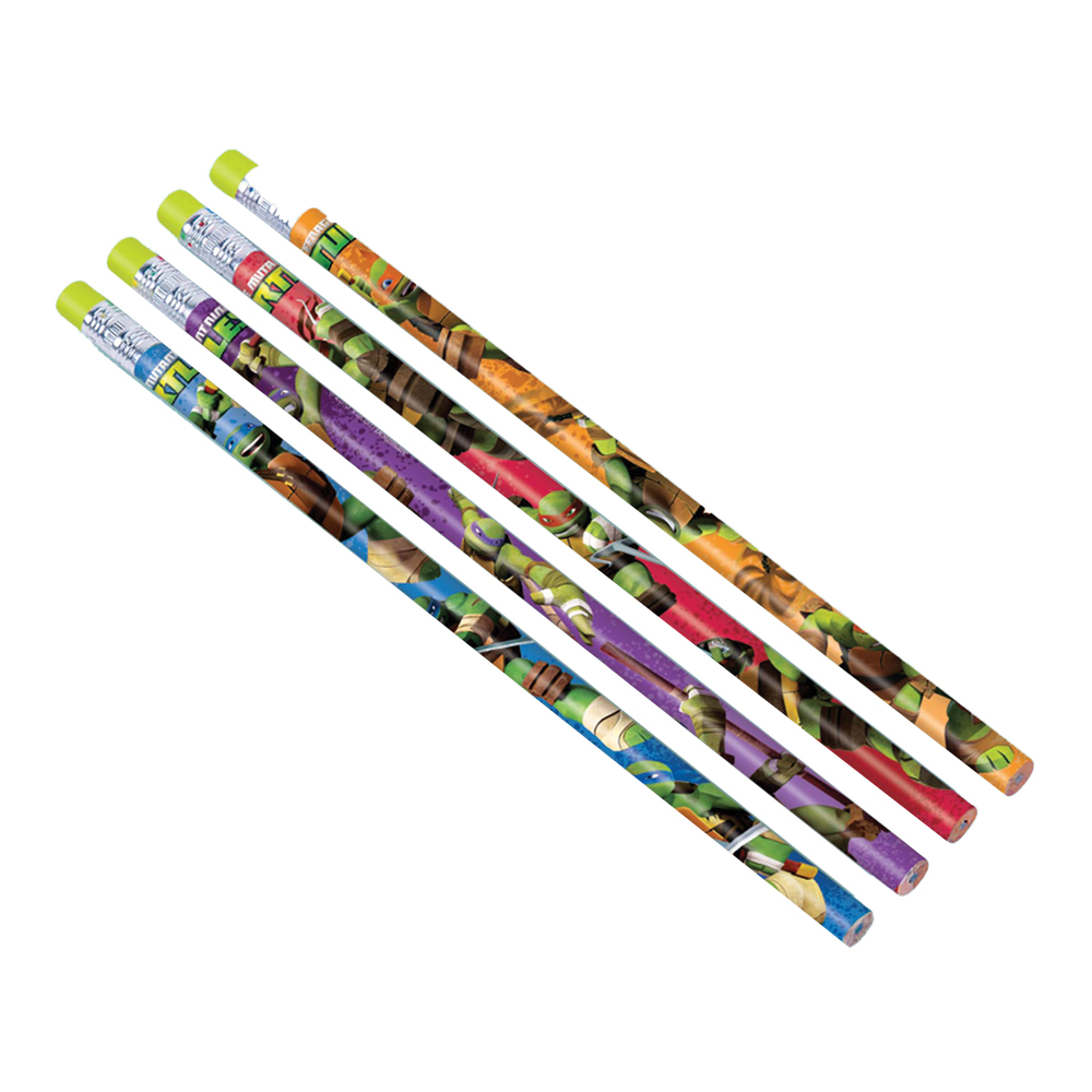 Featured Image for Ninja Turtles Pencil Favors – Pack of 12