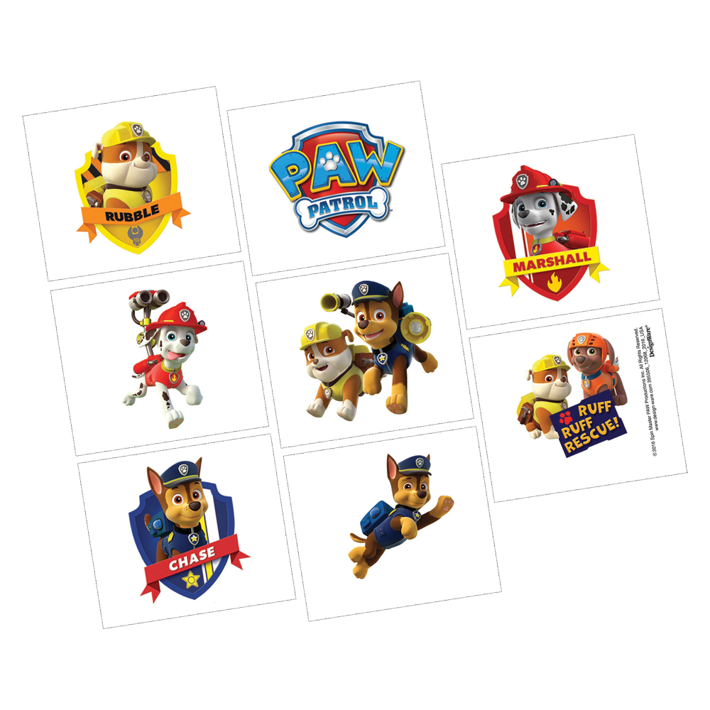 Featured Image for PAW Patrol Tattoos