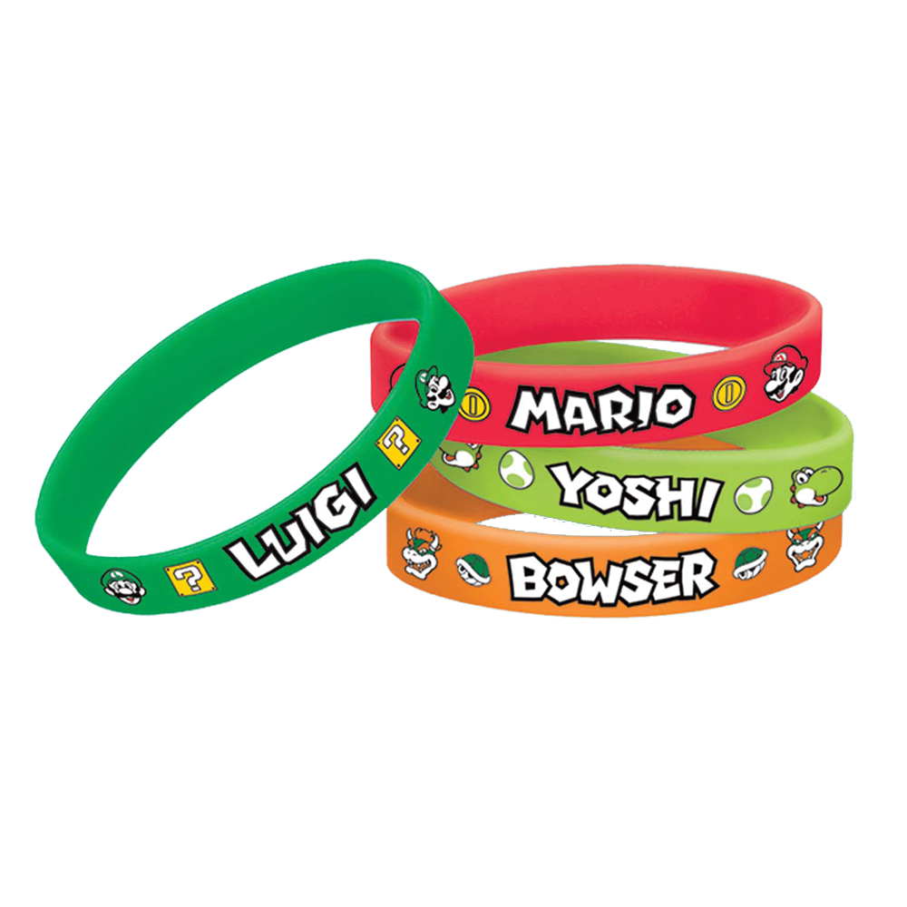 Featured Image for Super Mario Bracelet – Pack of 4
