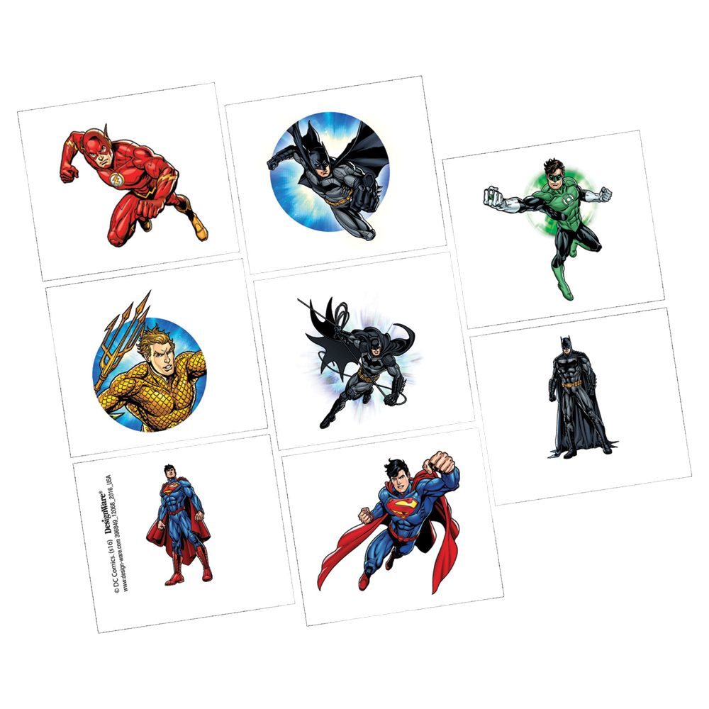 Featured Image for Justice League Tattoos