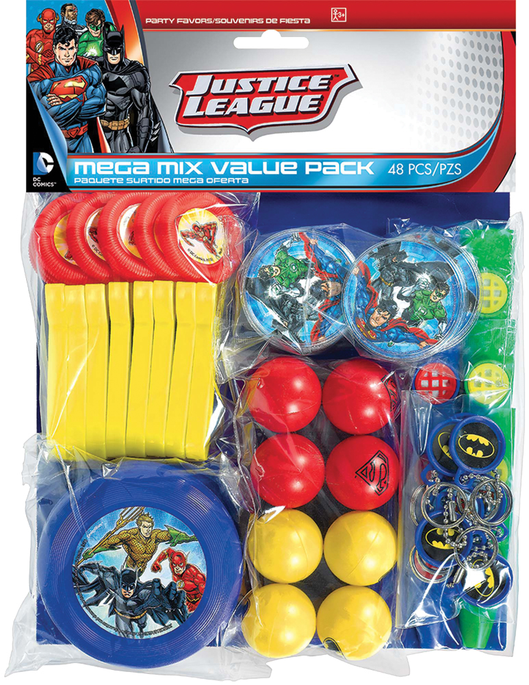 Featured Image for Justice League Favor Value Pack