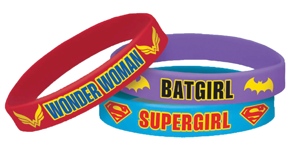 Featured Image for DC Superhero Girls Bracelet – Pack of 4