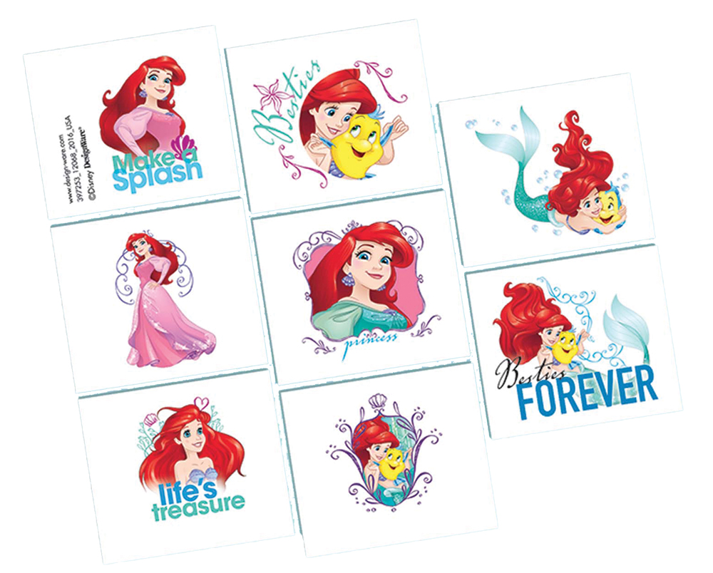 Featured Image for Disney Ariel Tattoos