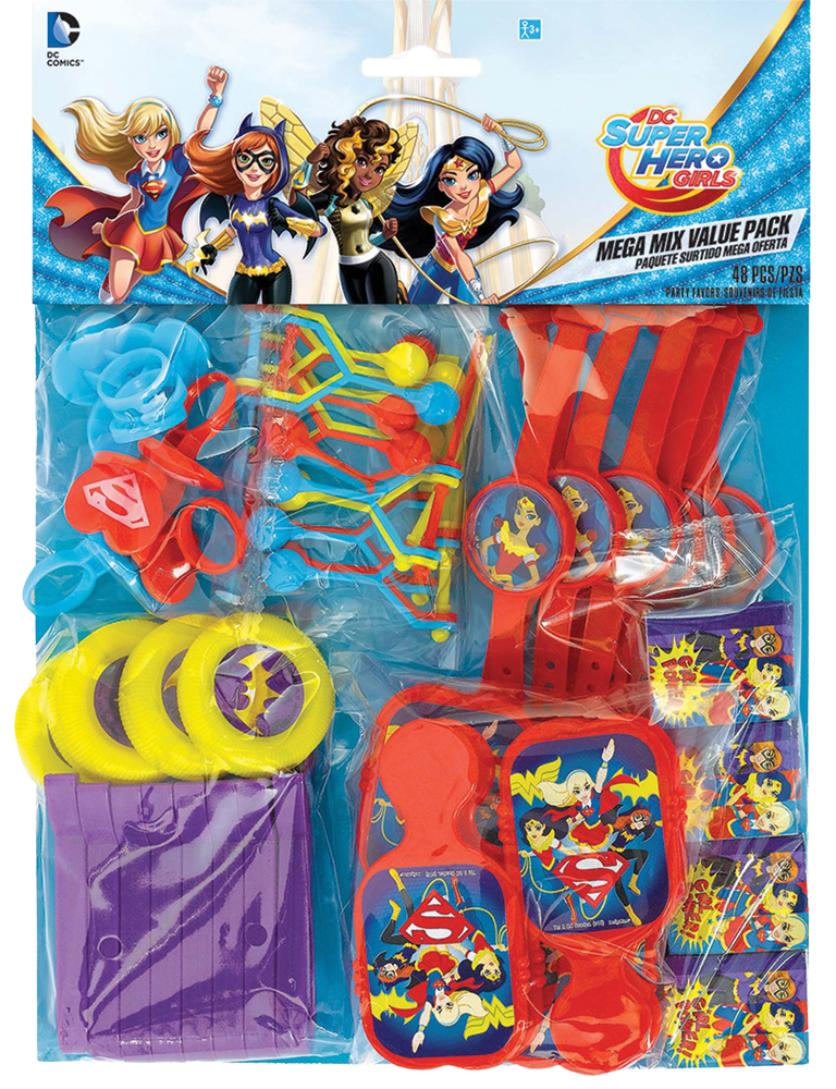 Featured Image for DC Superhero Girls Favor Value Pack