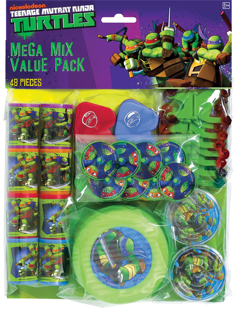 Featured Image for Ninja Turtles Favor Value Pack