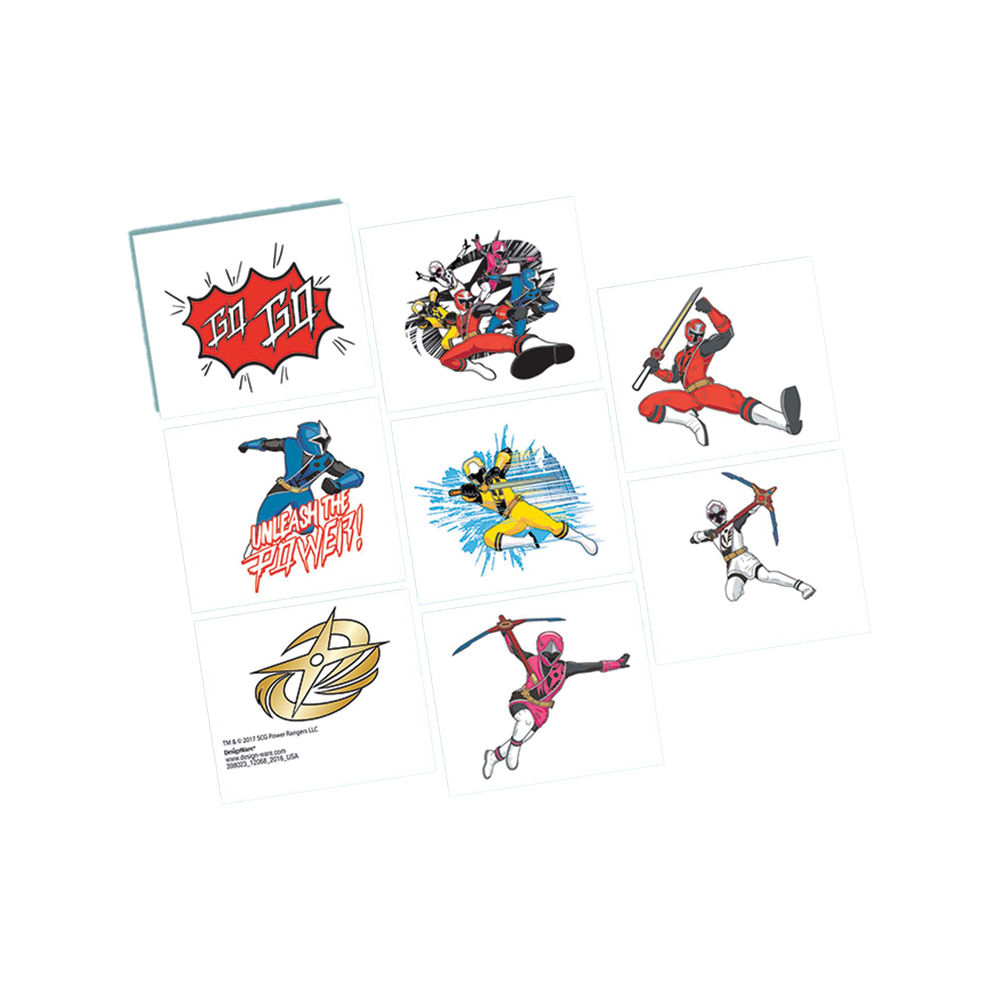 Featured Image for Power Rangers NS Tattoos