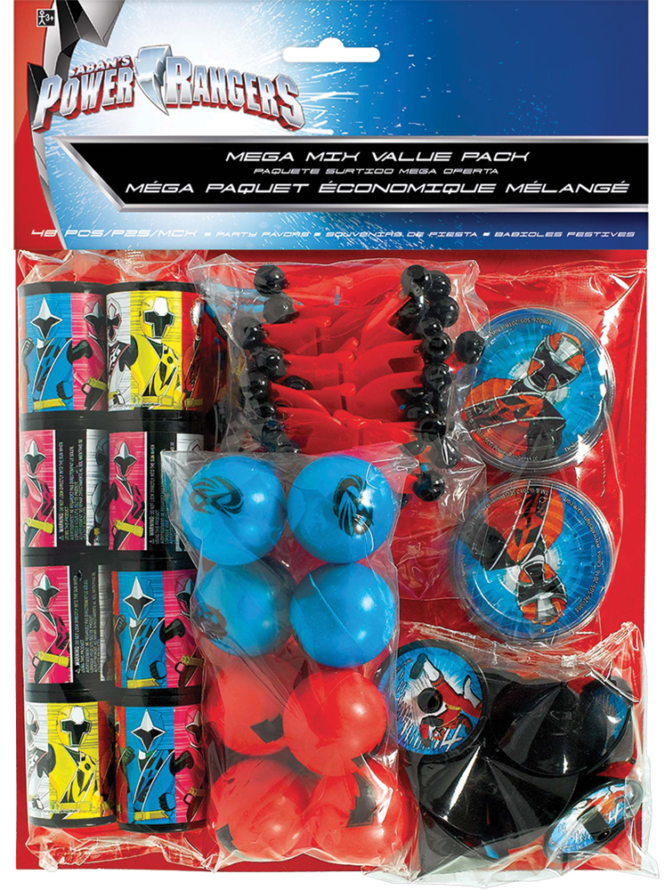 Featured Image for Power Rangers NS Favor Value Pack