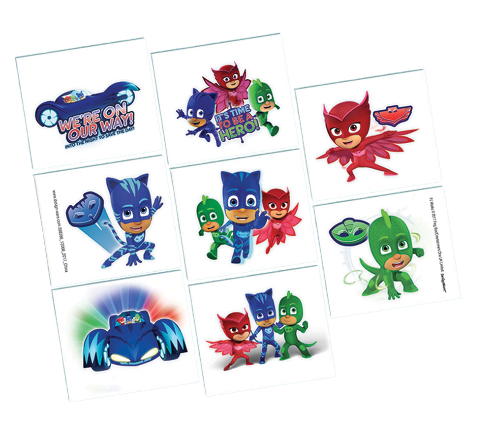 Featured Image for PJ Masks Tattoos