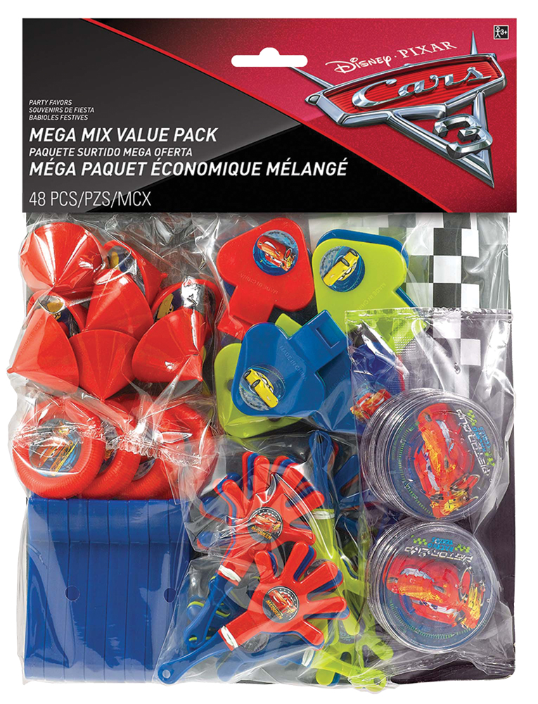 Featured Image for Disney Cars 3 Favor Value Pack