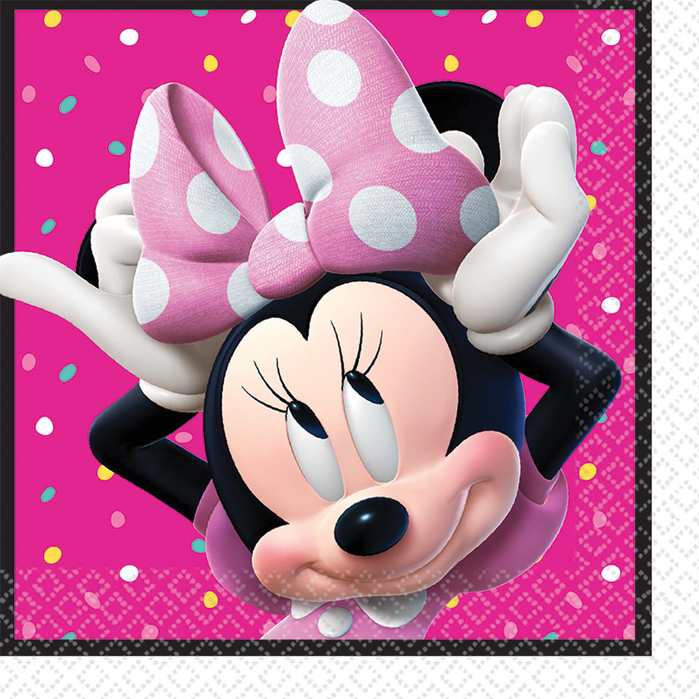 Featured Image for 6.5″ Minnie Helpers Lunch Napkins – Pack of 16