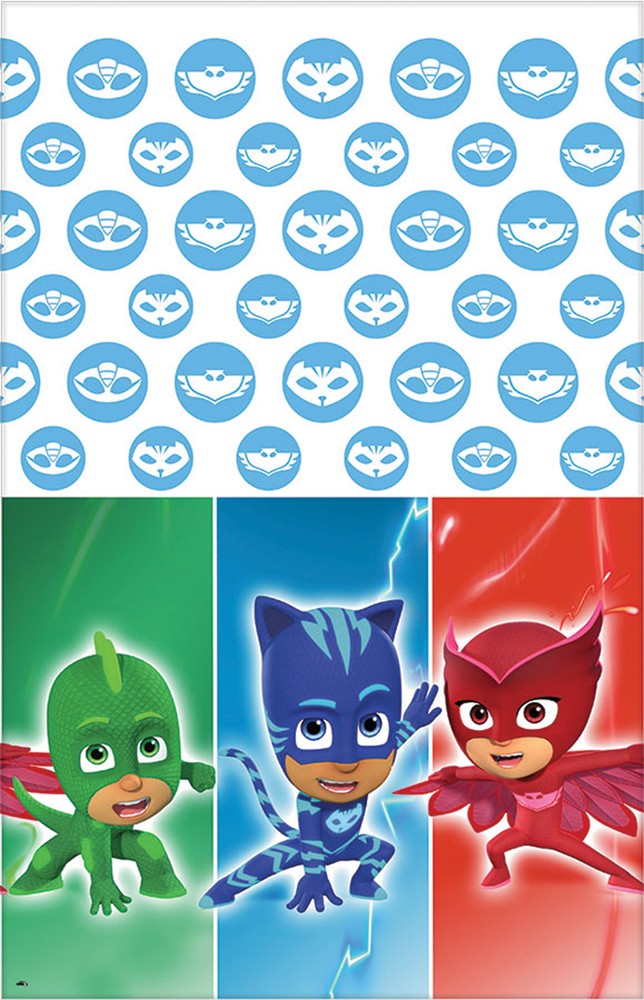 Featured Image for PJ Masks 1st Bday Table Cover