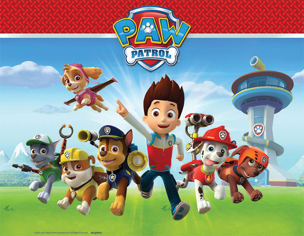 Featured Image for PAW Patrol 1st Bday Table Cover