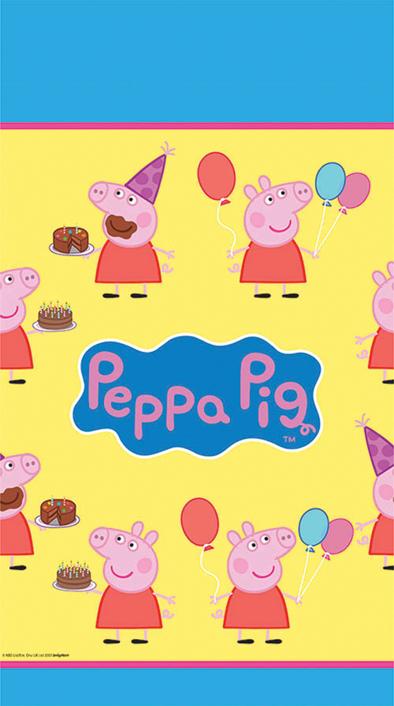 Featured Image for Peppa Pig Table Cover
