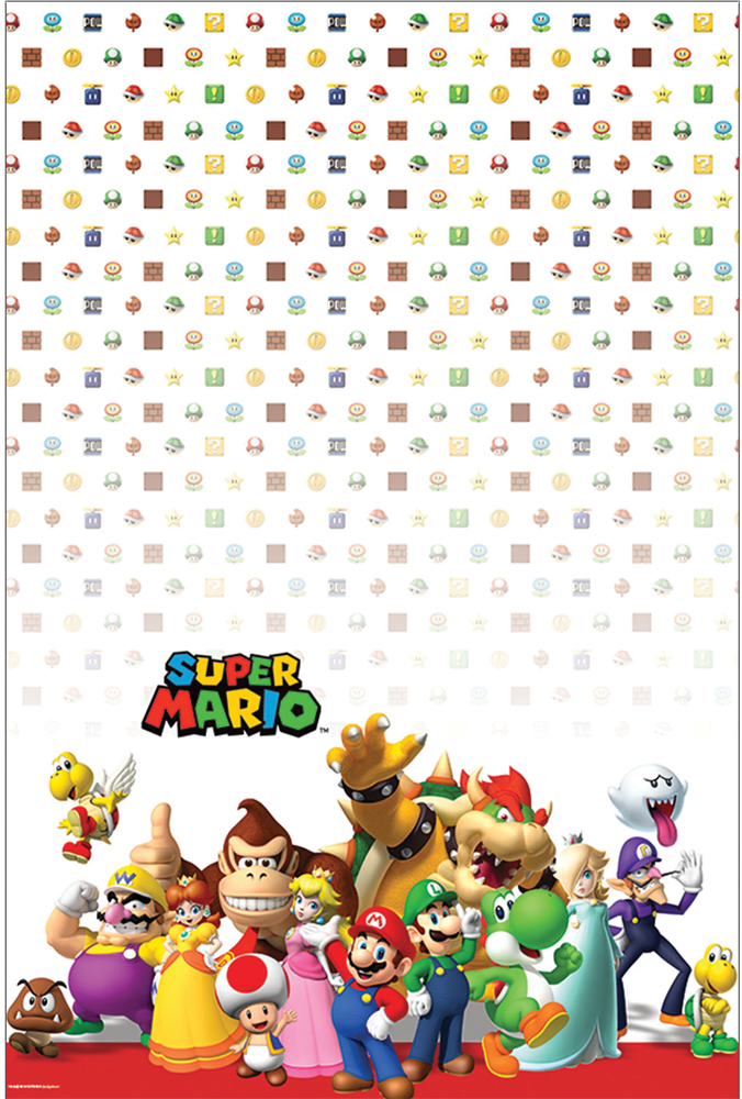 Featured Image for Super Mario Table Cover