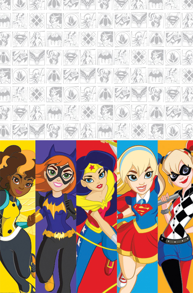 Featured Image for DC Superhero Girls Table Cover